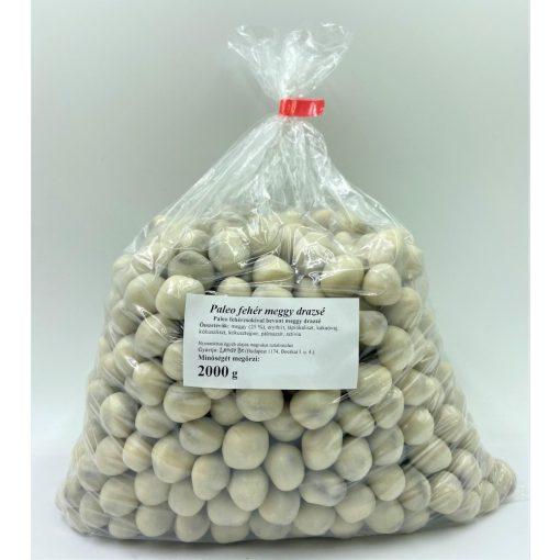 Meggyes fehér drazsé lédig 2kg kókuszos bevonattal drazsírozva