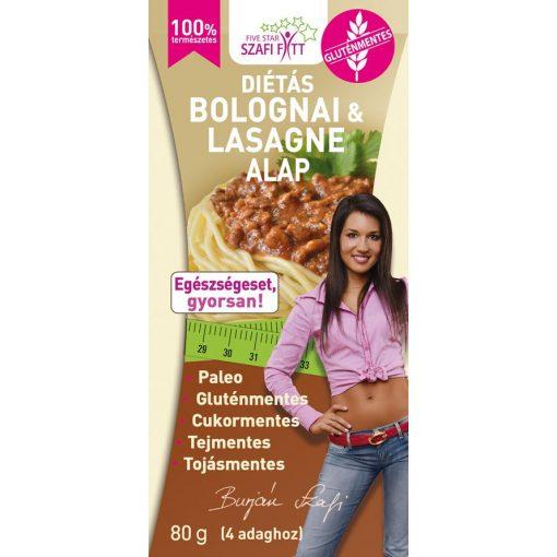 Bolognai és Lasagne alap 80g Szafi Fitt