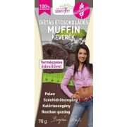 Étcsokoládés muffin keverék 280g Szafi Fitt