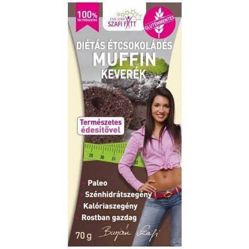 Étcsokoládés muffin keverék 280g Szafi Reform