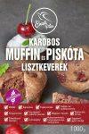 Karobos lisztkeverék piskótához és muffinhoz 1kg Szafi Free