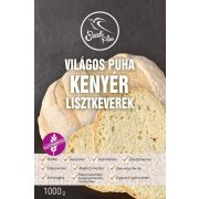 Világos puha kenyér lisztkeverék 1kg Szafi Free