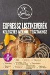 Expressz lisztkeverék kelesztés nélküli tésztákhoz 5kg Szafi Free