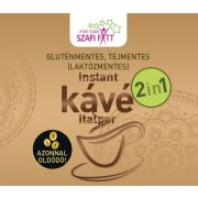 2in1 kávé 200g Szafi Fitt (gluténmentes, tejmentes, laktózmentes)