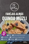 Fahéjas-almás quinoa müzli 200g Szafi Free