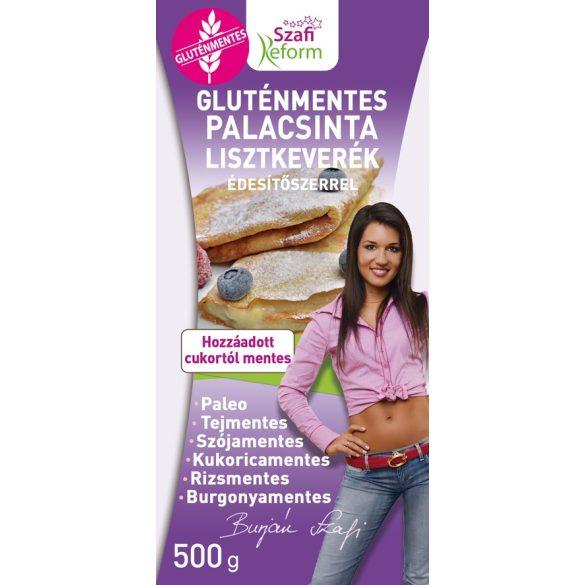 Gluténmentes palacsinta lisztkeverék 500g Szafi Fitt