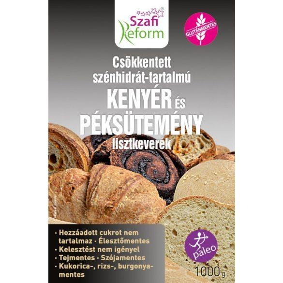 CH csökkentett kenyér és péksütemény lisztkeverék 1kg Szafi Reform