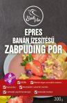 Epres banán ízű zabpuding por 300g Szafi Free