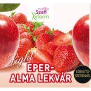 Eper-alma lekvár 350g Szafi Reform