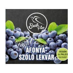 Áfonya-szőlő lekvár 350g Szafi Free