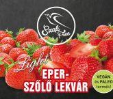 Eper-szőlő lekvár 350g Szafi Free