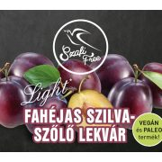 Fahéjas szilva-szőlő lekvár 350g Szafi Free