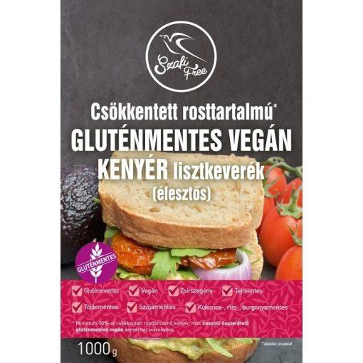 Gluténmentes vegán kenyér lisztkev. 1kg csökkentett rosttartalmú Szafi Free