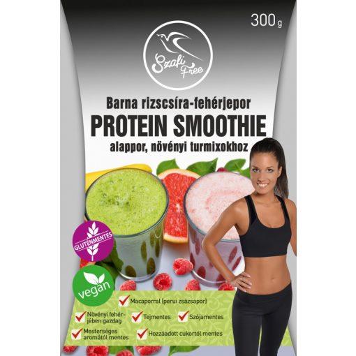 Barna rizscsíra-fehérje protein smoothie 300g Szafi Free
