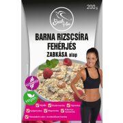 Barna rizscsíra fehérjés zabkása alap 200g Szafi Free