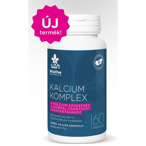 Kalcium komplex 60kaps Wise Tree Natural Biológiailag aktív formula