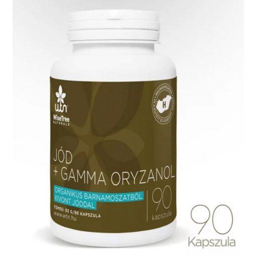 Jód + Gamma oryzanol 90 kapszula Wise Tree Naturals
