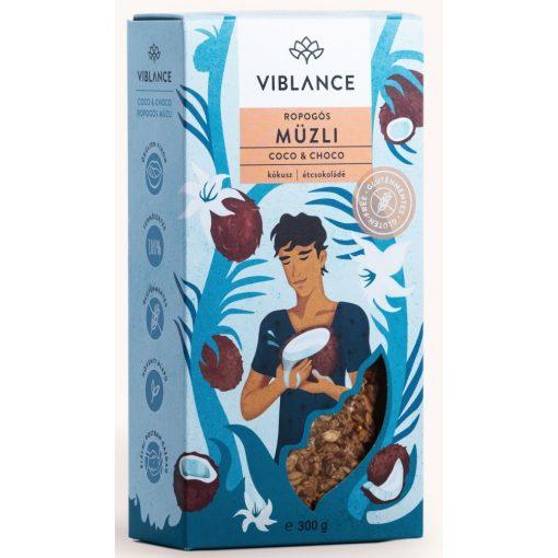 Choco Coco ropogós müzli 300g Viblance