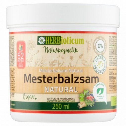 Mesterbalzsam NATURAL 250ml HERBioticum