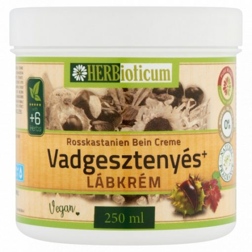 Vadgesztenyés lábkrém 250ml HERBioticum