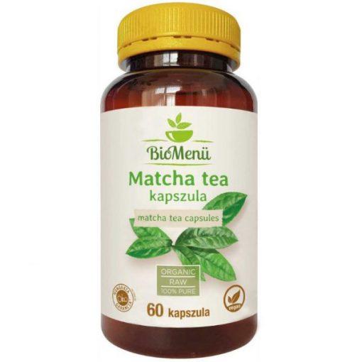BIO Matcha tea kapszula 60db BioMenü