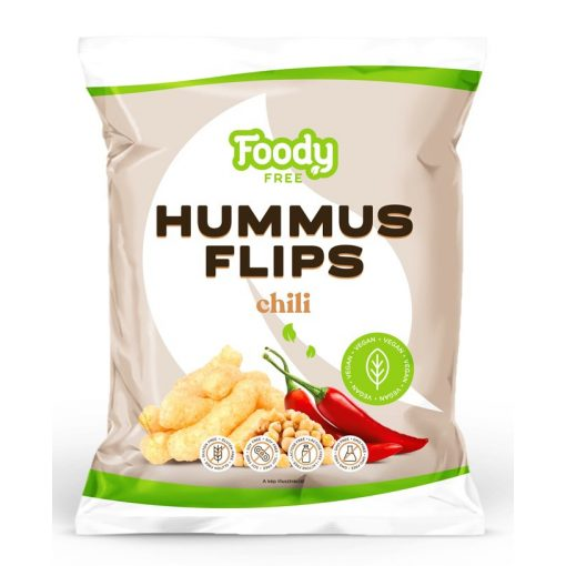 Hummus flips chilivel 50g Foody free