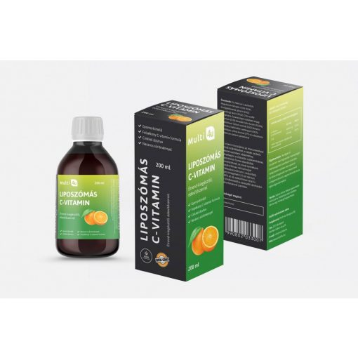 Liposzómás C-vitamin 200ml Multi 4U