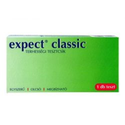 Terhességi tesztcsík expect classic
