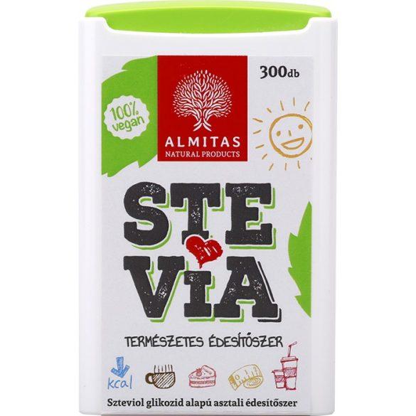 Stevia tabletta 300db Almitas