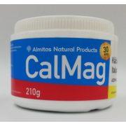 Kalcium-Magnézium C-vitaminnal 210g Almitas