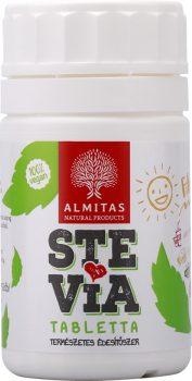 Stevia tabletta 60g /min 950db/ Almitas
