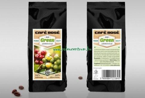Zöld kávé Café Rosé 250g BIO Green