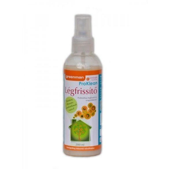 Légfrissítő mandarin illattal 200ml Greenman