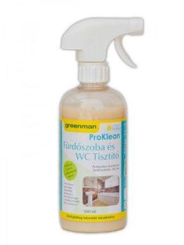 Fürdőszoba és WC tisztító 500ml Greenman