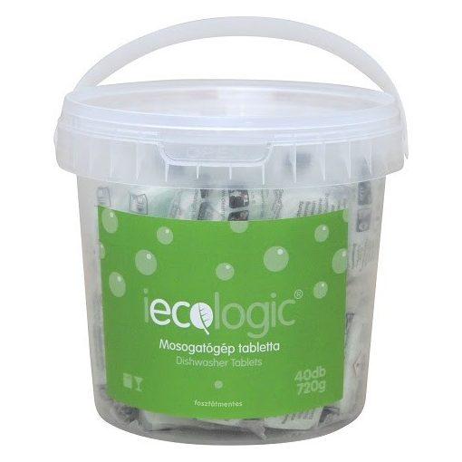 Mosogatógép tabletta 40db öko iecologic