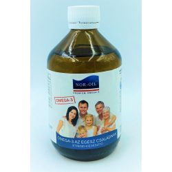 Szűz lazacolaj gyerekeknek 300ml Nor-Oil