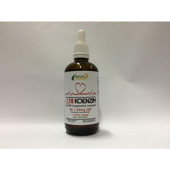 Q10-komplex cseppek 95ml Nature&Vitality