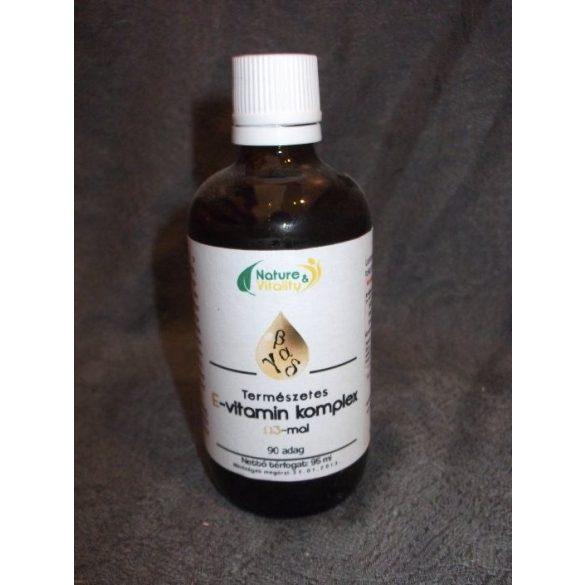 E-vitamin komplex 95ml Nature&Vitality
