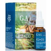 K2+D3 vitamin 20 ml GAL