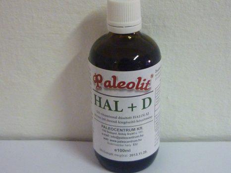 Hal+D vitamin 100ml Paleolit