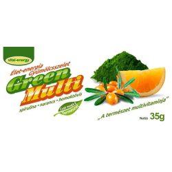 GreenMulti Spirulina gyümölcsszelet 35g