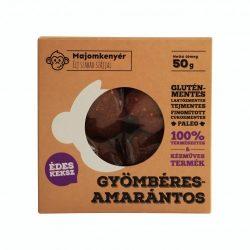 Gyömbéres-amarántos paleokeksz 50g Majomkenyér