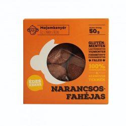 Narancsos-fahéjas paleokeksz 50g Majomkenyér