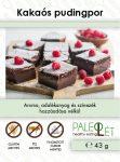 Csokoládéízű pudingpor 40g PaleoLét