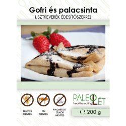 Gofri és palacsinta lisztkeverék 200g PaleoLét