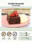 Csokis brownie lisztkeverék 110g PaleoLét