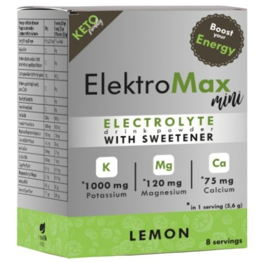 ElektroMax mini citrom ízű italpor 8db Health Market
