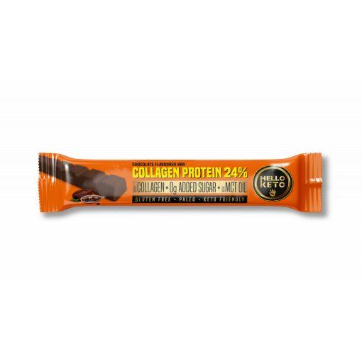 Kollagénprotein csokoládé ízű 40g Hello Keto
