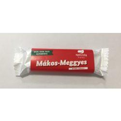Mákos-meggyes nyers szelet 35g EgészségMarket