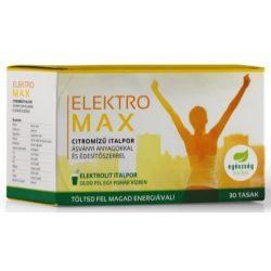 ElektroMax citrom ízű italpor 30db Egészség Market
